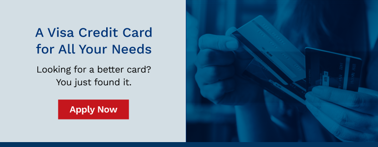 Apply now for a Visa credit card
